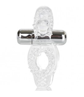 WIRELESS PASSION ANILLO VIBRADOR TRANSPARENTE