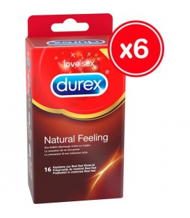 DUREX NATURAL FEELING 16 UDS 6 CAJAS