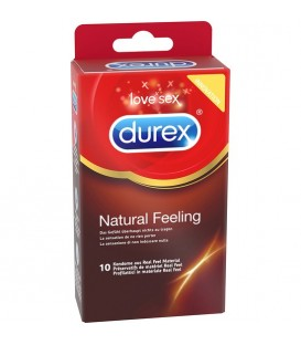 DUREX NATURAL FEELING 10 UDS 6 CAJAS ETIQUETAJE EUROPEO