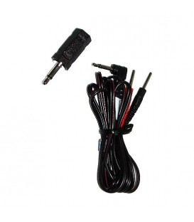 KIT CABLE ADAPTADOR JACK 3.5MM/2.5MM