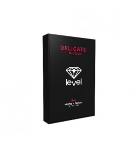 PRESERVATIVOS LEVEL DELICATE CONDOMS 24UDS