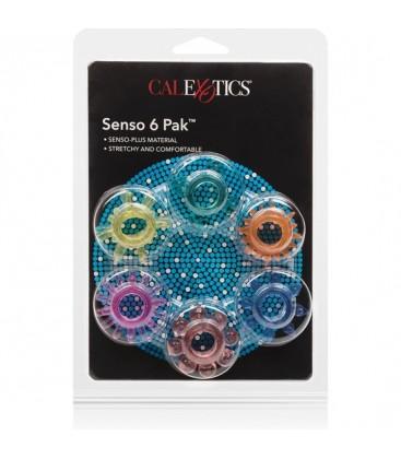 SENSO RINGS KIT DE 6 ANILLOS SURTIDOS