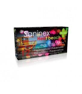 SANINEX PRESERVATIVOS HEAT BEACH 12UDS