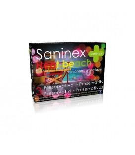 SANINEX PRESERVATIVOS HEAT BEACH 3UDS