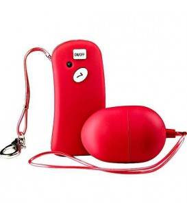 TABOOM THE REMOTE CONTROLLED ONE HUEVO VIBRADOR ROJO