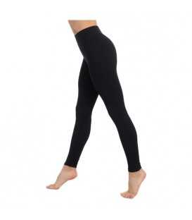 LEGGINS PUSH UP COSMeTICO TEXTIL EMANA 140 DEN COLOR NEGRO