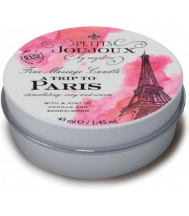 KIT 5-ZIMMER-CANDLE PARIS REFILL VANILLE