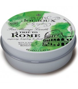 KIT 5 PIEZAS CANDLE ROME REFILL POMELO