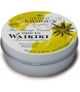KIT 5 PIEZAS CANDLE WAIKIKI REFILL TROPICAL