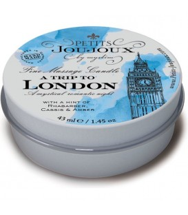KIT 5 PIEZAS CANDLE LONDON REFILL MENTA