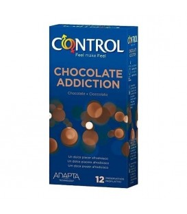 PRESERVATIVOS CONTROL CHOCOLATE ADDICTION 12UDS