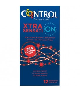 PRESERVATIVOS CONTROL XTRA SENSATION 12UDS