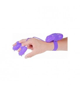 MAGIC TOUCH FINGER FUN -  ESTIMULADOR DEDAL MORADO