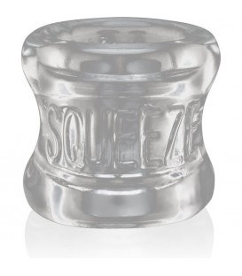 OXBALLS SQUEEZE BALL STRETCHER TRANSPARENTE