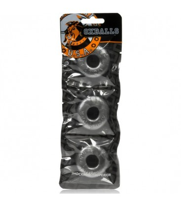 PACK 3 ANILLOS OXBALLS RINGER COCKRING METAL